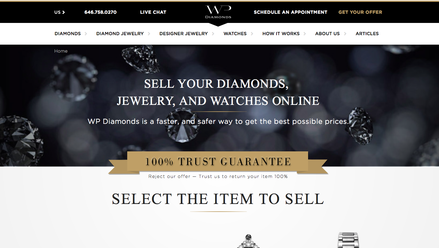 Wp diamonds customer reviews