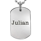 Dogtag Necklace for Graduation